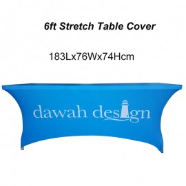 6ft Stretch Table Cover