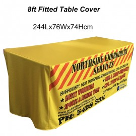 8ft Fitted Table Cover