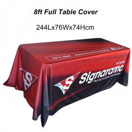 8ft Full Table Cover