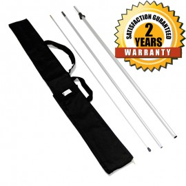 100% Fiberglass Flagpole With Bag