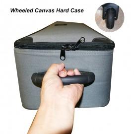 Wheeled Canvas Hard Case