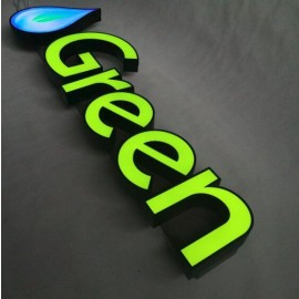 Front Illuminate Stainless Steel Fabricate LED Channel Letters