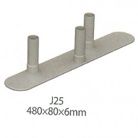 Backwall Foot J25