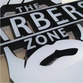 Mini acrylic front & back illuminated 3D letters