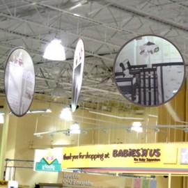 Round Ceiling Banner