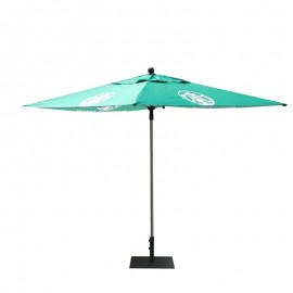 Square  Aluminum AD Umbrella