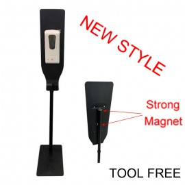Tool Free (Maget) Automatic Hand Sanitizer Dispenser Flat Base Stand